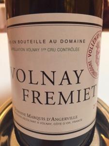 d'Angerville Volnay Fremiet